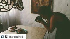 Mais um ângulo do ensaio fotográfico.  #Repost @clarissaikeda with @repostapp ・・・ ensaio com @donamanteiga #donamanteiga #foodphotography