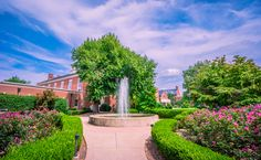 KWC Fountain Kentucky Wesleyan College