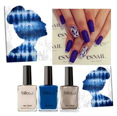 """""""blue"""" by dkuzmova1 ❤ liked on Polyvore featuring beauty and Oliver Gal Artist Co."""