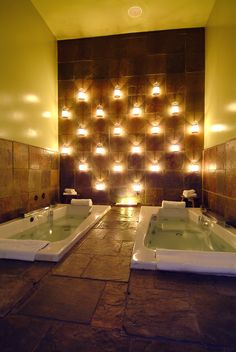 Ahhhh...The Hydrotherapy Soak Room at the OLEHENRIKSEN FACE / BODY SPA in Hollywood, CA