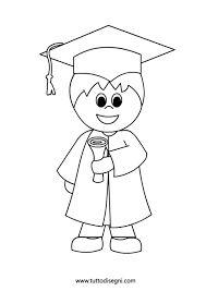 Resultado de imagen de dibujos birrete y diploma de graduación
