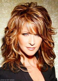 Hair color Mom - your hair would look good this color