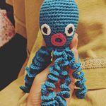Nuevo pulpo in da house pulpodecrochet pulposolidario octopus amigurumis amigurumi handmade diy ganchillo ganchilloparabebes manualidades crafts blue crochet kawaii tako takochu