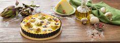 Il Bersaglio Marketing:   QUICHE AI CARCIOFI  INGREDIENTI  1 rotolo di pas... Quiche, Cheesecake, Muffin, Pie, Breakfast, Desserts, Food, Marketing, Pies