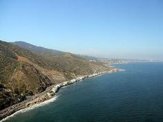 Take A Scenic Drive From Malibu To Lompoc on the Pacific Coast Highway.