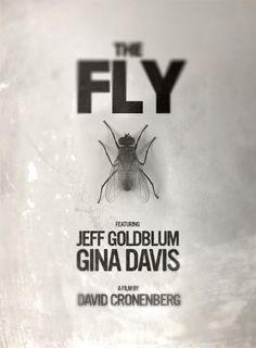 The Fly - USA 1986 directed  by David Cronenberg. Cast: Jeff Goldblum, Geena Davis and John Getz.