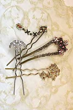 French hair Fork Collection, Victorian Trading Company Exclusive -  Would be great for both theatre, and events that needed some shiny. :)