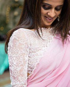 Hello lovely! @mehrapurva ✨Pretty blouse details... do you spot the bird? . . . #clientdiaries #love #koëcsh #packatan #bridaldiaries #personalized #koecsh #kreshabajaj 📸 @aazad_kabootar