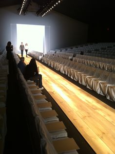 #fallinginlovewith a hardwood runway! genius!