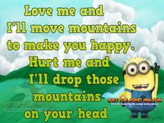 Hurt Me , Mountains ? Poof! Poof ! Poof! Just like that Do you believe in Magic . LMAO!