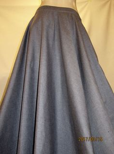 Light Grey Maxi SkirtFull Circle Maxi Skirt Long Maxi
