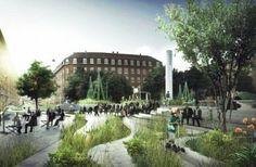 Un quartier entier de Copenhague repensé afin de s'adapter aux changements climatiques