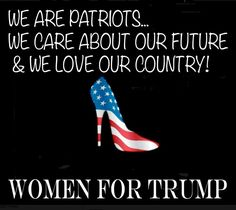 WOMEN FOR TRUMP! Donald Trump's strong message speaks to the millions of American women who are fed up with loser politicians who won't stand up for our freedom or the USA! ~ https://www.facebook.com/WomenforTrump/?fref=ts ~ RADICAL Rational Americans Defending Individual Choice And Liberty