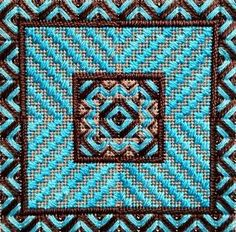 Chaqua, charted needlepoint from Needle Delights