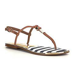 Gianni Bini Harbour Nautical Flat Sandals #Dillards