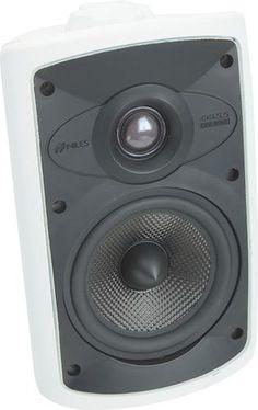 Niles - OS5.5 2-Way Indoor/Outdoor Speakers (Pair) - White