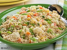 Our Cauliflower Fried Rice recipe is an even healthier alternative to your favorite takeout-style fried rice. This low-carb side dish is loaded with all the same great flavors you love. In fact, we bet your gang won't even be able to tell the difference!