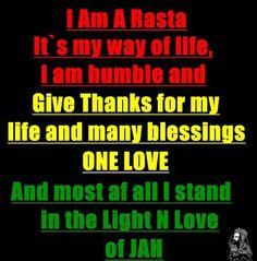 I AM A RASTA