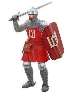 m Fighter City Guard La Pintura y la Guerra. Sursumkorda in memoriam Medieval Knight, Medieval Armor, Medieval Fantasy, Armadura Medieval, Cartoon Knight, Templer, Early Middle Ages, Arm Armor, Fantasy Armor
