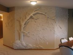 wall sculptures joint compound | Drywall Art | Cheryl World