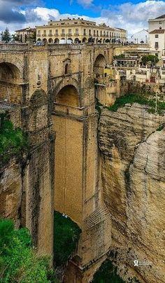 Roma Bridge, Ronda. #Spain