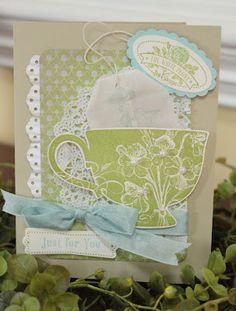 Stampin' Up! Card - Tea Shoppe
