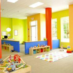 60 fun kids playroom ideas to inspire you playroom ikea kids Kids Playroom Colors, Ikea Kids Playroom, Playroom Paint, Colorful Playroom, Toddler Playroom, Playroom Design, Playroom Decor, Kids Room, Playroom Ideas