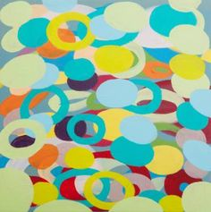 "Saatchi Art Artist Mariana Lisina; Painting, ""An Infinite Circles"" #art"