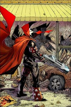 Spawn Image Comics By Todd McFarlane. Created by writer/artist Todd McFarlane, Spawn first appeared in Malibu Sun (May Spawn Comics, A Comics, Horror Comics, Comic Book Covers, Comic Books Art, Deadpool, Savage Dragon, Todd Mcfarlane, Nerd