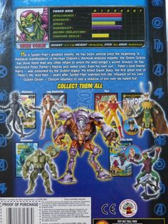 ToyzMag.com » Marvel Legends (Toy Biz) : Review du Green Goblin