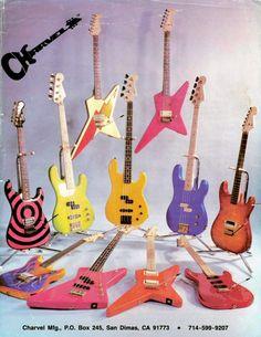 25 Best Original San Dimas Charvel Guitars Images In 2019