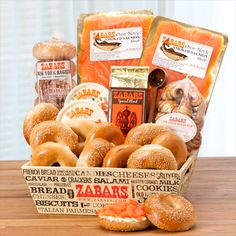Zabar's Bagels & Nova Brunch Box -best smoked salmon ever!