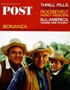 Saturday Evening Post - 1965-12-04: Bonanza Actors (Dan Wynn)