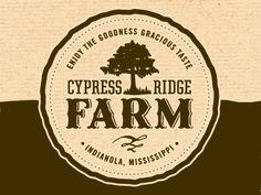 Cypress Ridge Farm #Logo