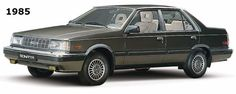 Here's a 1985 #Hyundai Sonata for #ThrowbackThursday #TBT