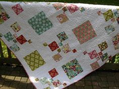 Simply Luscious Handmade Lap Quilt   READY TO by WoodenNeedleNook, $220.00