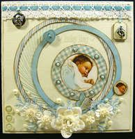 Project Ideas for Graphic 45 - Little Darlings Collection - 12 x 12 Double Sided Paper - Bundle of Joy, gf-4500444