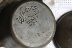 Rare Antique Cast Iron Wagner Ware Child's Hot by ThatOtherRabbit, $49.00 Wagner Cast Iron, Vintage Kitchen Appliances, Little Charmers, Cast Iron Cookware, Learn To Cook, Rare Antique, Kitchens, Antiques, Hot