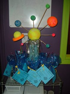 molecules theme event decor - Google Search