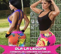 Lleva tus prendas deportivas de OLA-LA combinadas de la manera que más te gusten…  Leggins + Top… Leggins + Blusa… El estilo lo impones tú, la moda la diseñamos nosotros. OLA-LA la mejor expresión en prendas deportivas para ir al GYM. http://www.ola-laropadeportiva.com/body-fitne…/196-4099.html Contáctanos por whatsapp al +57 3188278826. #Mimios #GYM #HeltyParty #Fitness #Licras #Leggiscolombia #Olalaropadeportiva #Fitnesslifestyle #Ropadeportiva #Foreverolala