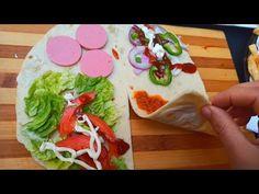 Viral Tortilla Hack kompilace / TIKTOK FOOD RECEPE - YouTube Mexican Food Recipes, Ethnic Recipes, Quesadilla, Fajitas, Burritos, Spicy, Muffins, Sandwiches, Tacos