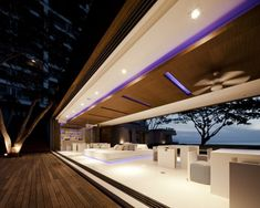 Swanky Sales Office of Condominiums by the Sea. By Somdoon Architects. #office #architecture