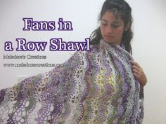 Fans in a row Shawl Pic for Youtube smaller by Meladora, via Flickr
