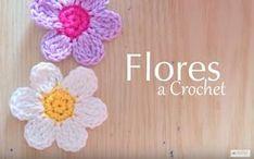 Estas flores son unas de mis favoritas, son bien prácticas de hacer, y son sencillamente hermosas. Es cierto el refrán que a veces menos es mas. Este tutorial realizado por La Magia del Crochetnos enseña a realizarlas de una forma muy sencilla.