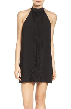Free shipping and returns on Ali & Jay Fringe Minidress at Nordstrom.com. This LBD is made for dancing and twirling with a fringe panel that sways from the high halter-style neck.