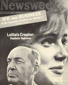 Oбложка журнала «Newsweek» от 25 июня 1962 г. На обложке В. Набоков.