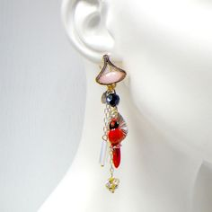 Deluxe Firebird Earrings One Pair @Noveltylane.com