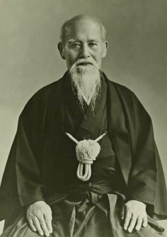 The Founder of Aikido Morihei Ueshiba in early 20th Century.