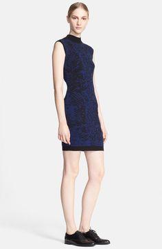 Christopher Kane Snakeskin Cashmere Sweater Dress | Nordstrom
