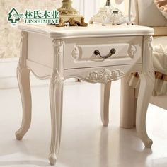 antique fashion bed   ... -bedside-cabinet-antique-white-fashion-storage-bed-side-cabinet.jpg